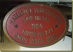 Engine Room Plate