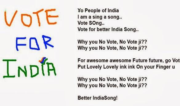 vote 4 india