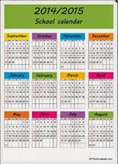 креативный календарь 2015