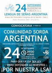 24 - 09 - 13 - Audiencia Pública LSA - Afiche Convocatoria