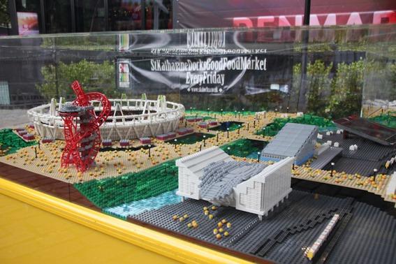Parque Olímpico de Londres em Lego 2