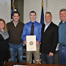 Meeting With Luke Hands, NYS Maritime Scholarship Recipient