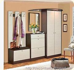 Цветовые решения в декоре прихожей комнаты 2