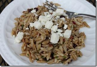 Cranberry Pecan Orzo Salad 015