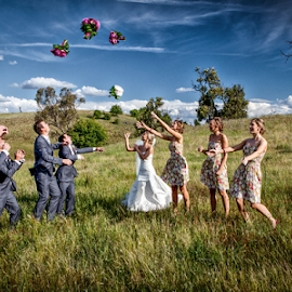 by Lindsay James - Wedding Groups ( wedding, woman, people, man, flower )