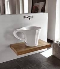 lavabo moderno Copa de ArtCeram meneghello-paolelli-associati