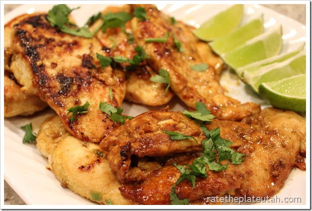 Lime &amp; Coconut Chicken 