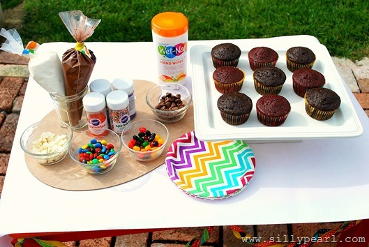 Cupcake Bar Ideas
