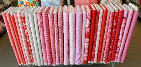 Valentines Day fabrics 1
