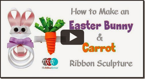 How-To-Make-An-Easter-Bunny-and-Carrot-Ribbon-Sculpture