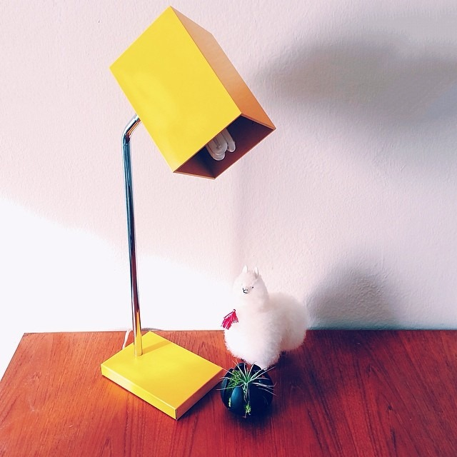 futuristichuman yellow lamp