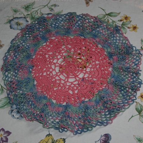 July 2011 DoM Ruffled Doily