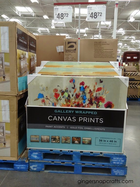 art at Sam's Club
