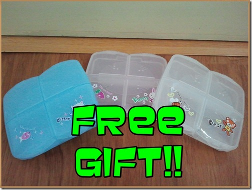Free_Gift_Pill_Box_Shaklee_Breastfeeding_Set_Triple M_3M_Full_Pack