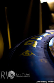Dunlop racing rubber