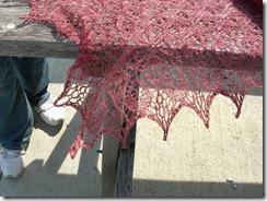 Laminaria lace detail