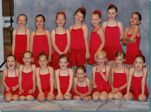 2010-2011 Dance Class