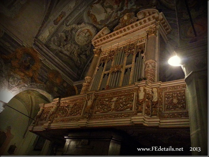 Nuovo organo della Basilica di San Giorgio, foto2, Ferrara, Emilia Romagna, Italia - New organ in the Basilica of St. George, photo2, Ferrara, Emilia Romagna, Italy - Property and Copyrights of FEdetails.net