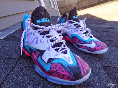 nike lebron 11 id production gumbo angel 1 02 Nike LeBron XI Gumbo iD Designed and Build by Angel