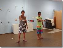 ハワイ島ファイヤーダンス