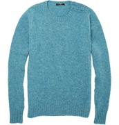 Balmain Split Shoulder Wool Sweater