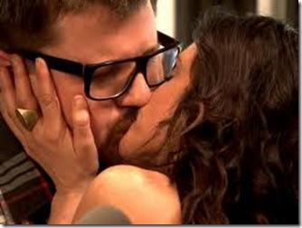 Emily Kissing