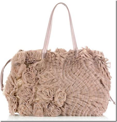 Valentino Tulle Rosette Bag