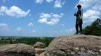 Schlachtfeld in Gettysburg