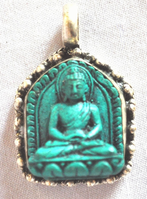 Pendant with Buddha