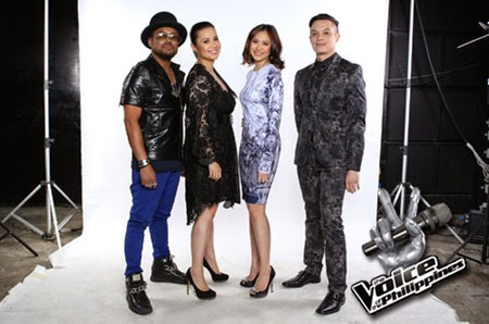 The Voice of the Philippines coaches
