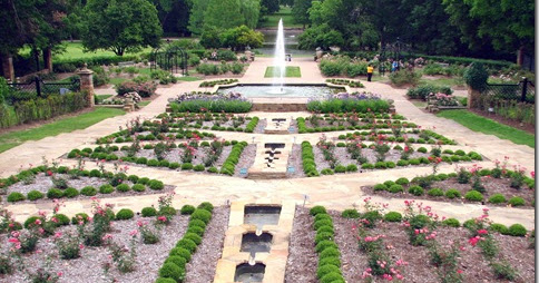 Rolling In A Rv Wheelchair Traveling Fort Worth Botanic Garden