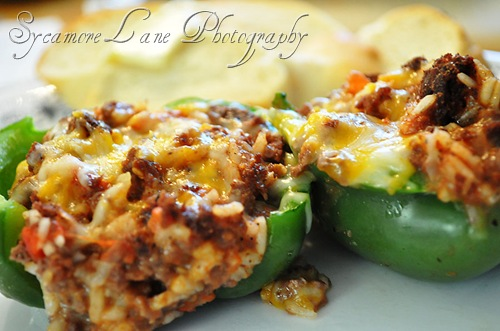 stuffed green peppers-w