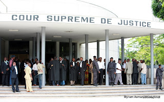 Cour suprme de justice  Kinshasa, 2006.