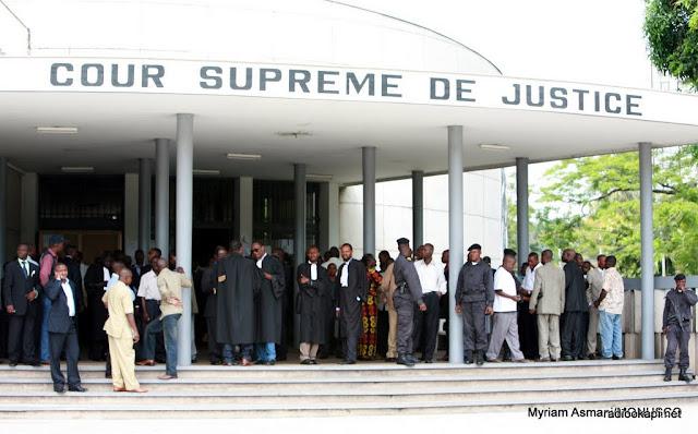 Cour suprême de justice à Kinshasa, 2006.