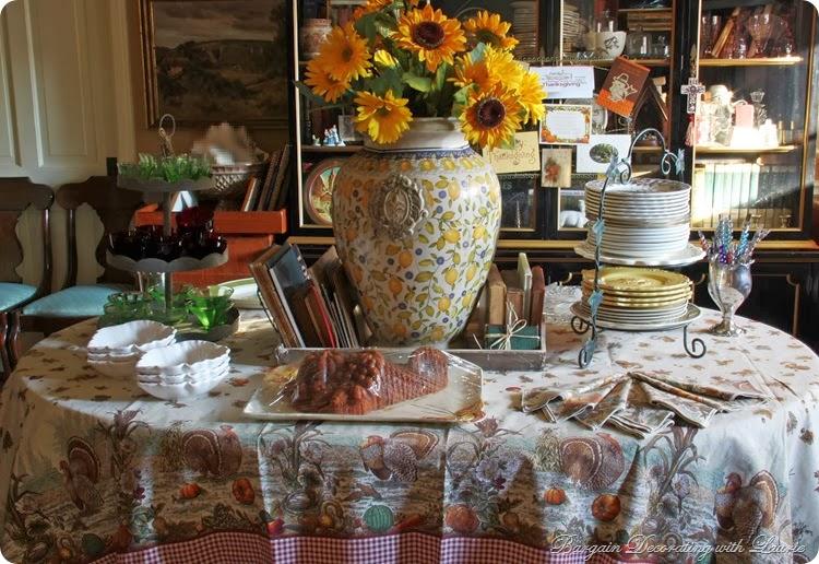 Thanksgiving Dessert Buffet-Bargain Decorating w Laurie