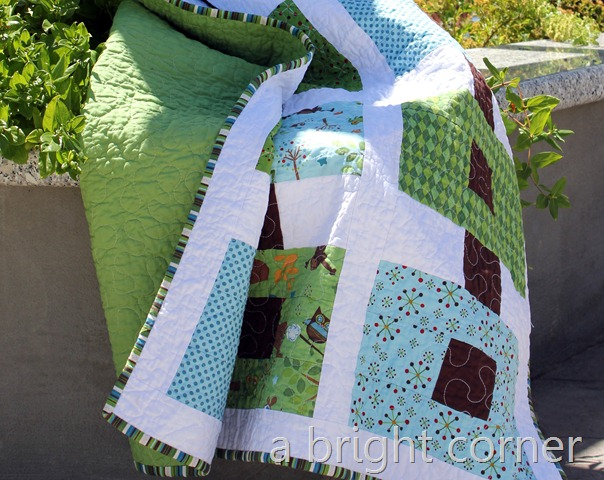 ribbons in blue and green 6
