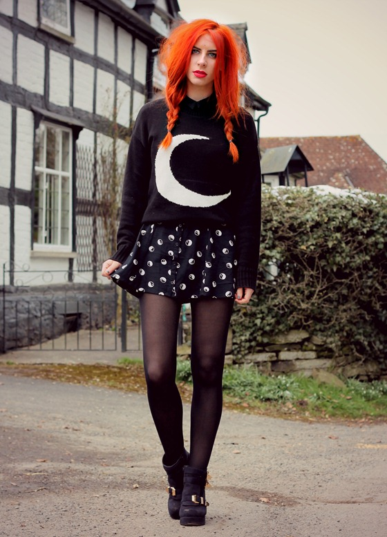 CRESCENT MOON JUMPER