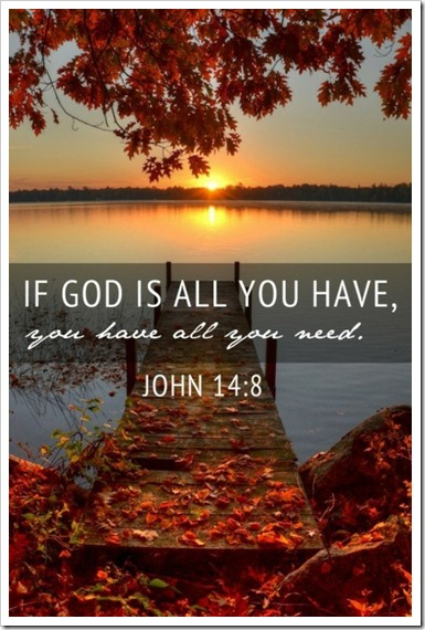 God all you have