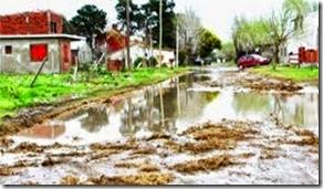 Intenso operativo municipal de asistencia por el temporal