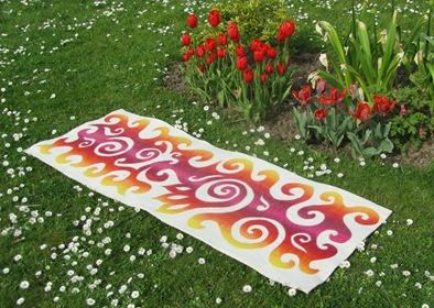 Yogamatte Strandmatte Gartenmatte
