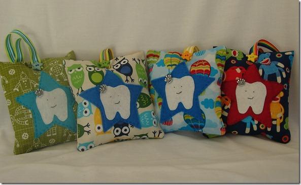 tooth fairy pillows boys