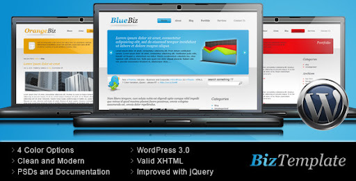 Biz Template - Business Wordpress Theme - Business Corporate