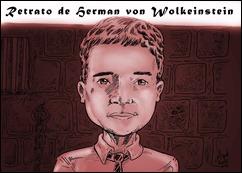 Retrato de Herman von Wolkeinstein sangue