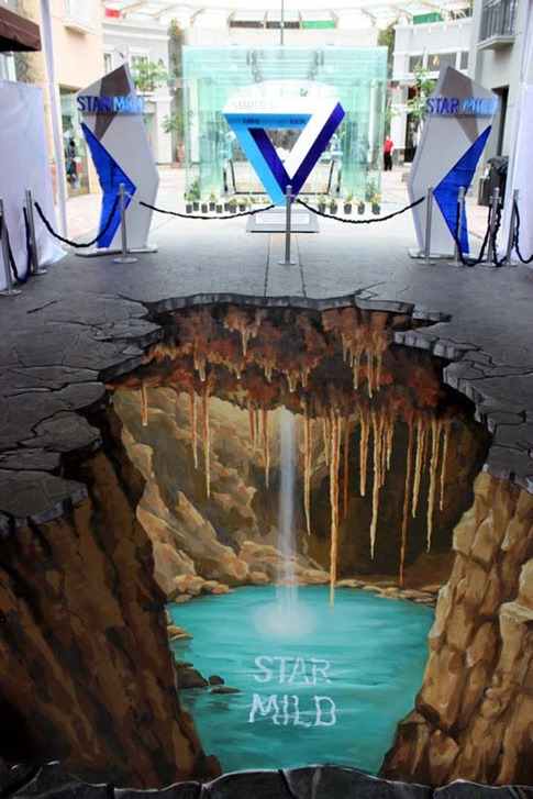 17. Graffiti de inframundo en 3D