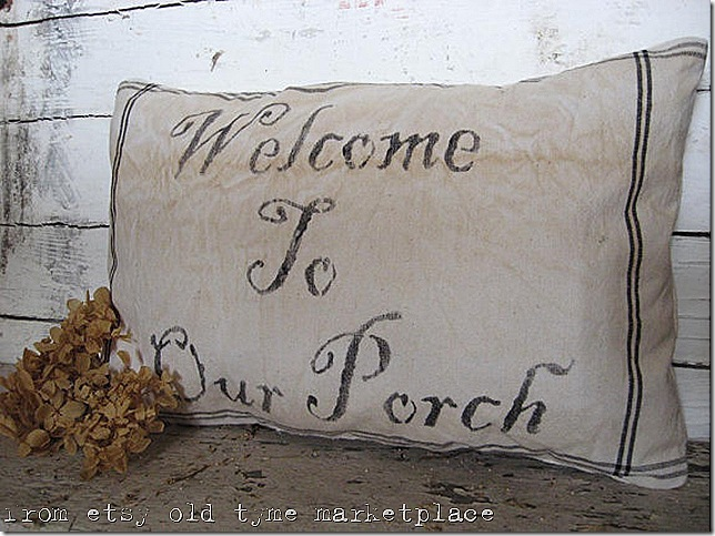 OTM Porch Pillow