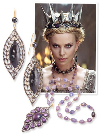 Beautiful Jewelry Wore Charlize Theron In The Movie Snow White