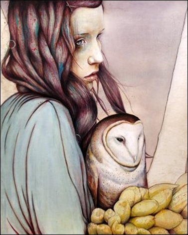 MichaelShapcott The_Girl_and_the_Owl