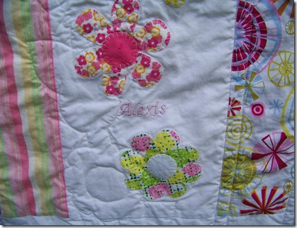 applique baby quilt6