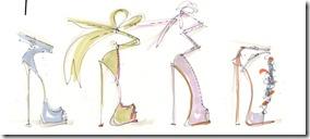 Giuseppe Zanotti Spring 2012 Sketches1