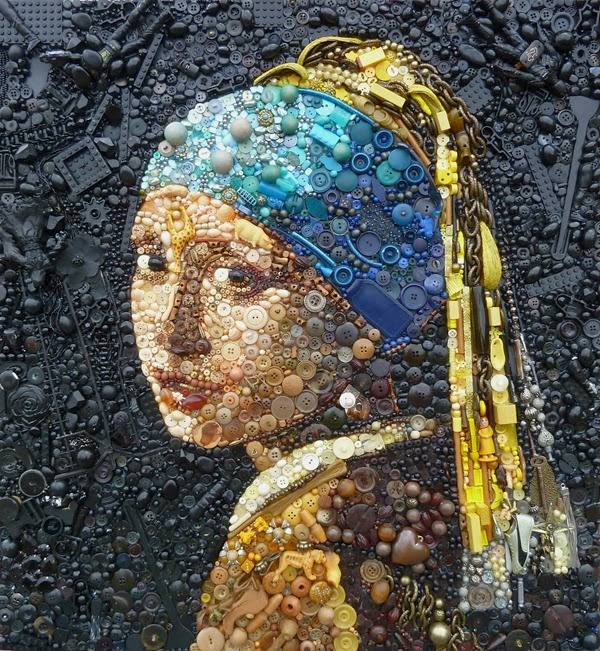 Girl with a Pearl Earring, after Vermeer